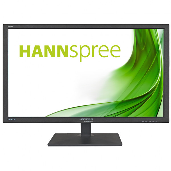 Hannspree HL274HPB, 68,6 cm (27 Zoll), 1920 x 1080 Pixel, Full HD, LED, 2 ms, Schwarz